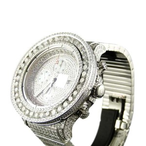 Breitling Super Avenger Vs 38 Ct Diamond Custom Fully Iced Mens Watch