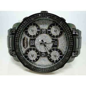Grand Master Jojino/Joe Rodeo 5 Time Zone Diamond Mens Watch