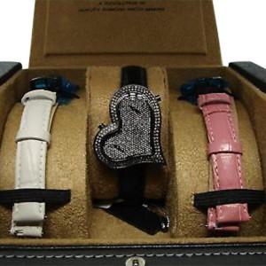 Joe Rodeo/Kc Black Sahara 1.40 Ct Diamond Ladies Watch