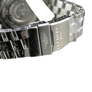 Breitling Super Avenger 3 Row Diamond Watch 23 Ct Mens Watch