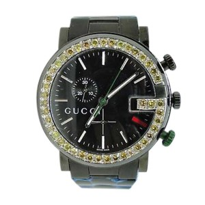 Gucci Ya101331 Pvd 3.5Ct Canary Diamond 101G Mens Watch