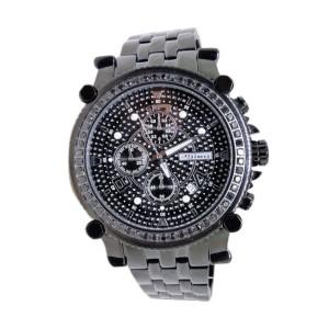 Jojo/Jojino/Joe Mj-1172B Rodeo Metal 56 Black 2.25 Ct Diamond  Mens Watch