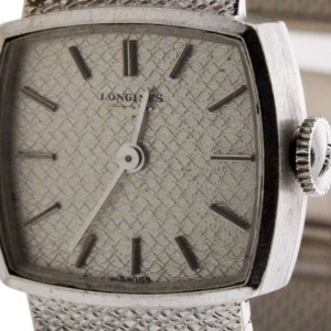 Longines 18K White Gold Mechanical Watch