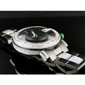 Gucci Ya101331 Sides And Band 9 Ct Diamond Mens Watch