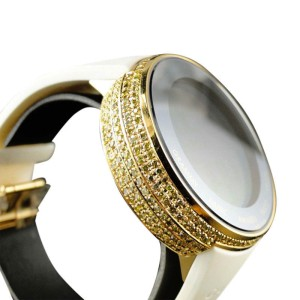 Gucci I YA114216 Grammy Edition Digital Yellow Diamond Mens Watch