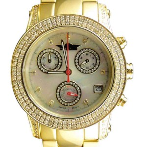 King Master / Joe Rodeo/Jojo Genuine 2.0 Ct Diamond Womens Watch