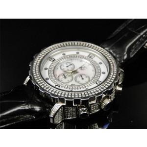 Techno Com KC Joe Rodeo Master Genuine 51MM  3.75 Ct Diamond Mens Watch