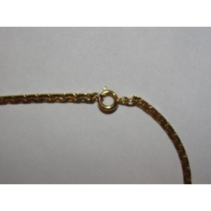 Diane Von Furstenburg Enameled Shell Pendant Necklace