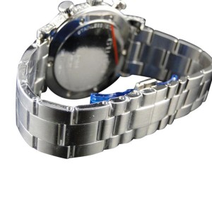 Gucci Ya101334 Diamond Stainless Steel Mens Watch