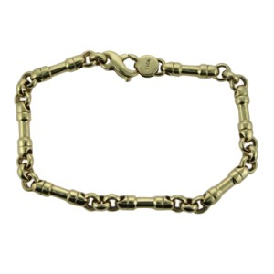 Tiffany & Co. 18K Yellow Gold Bar Link Bracelet