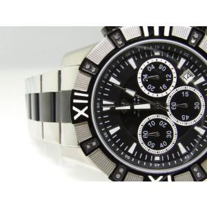Aqua Master Jono Jojino Joe Rodeo W#333 2 Tone Diamond Mens 46 mm Watch