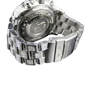 Breitling Super Avenger Aeromarine Genuine 22ct Diamond 52 mm Mens Watch