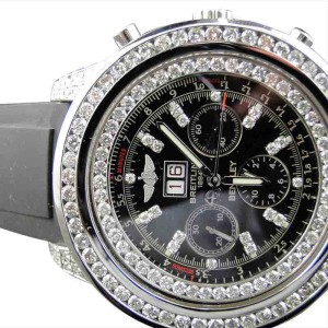 Breitling Bentley A4436412 Diamond Watch 11 Ct Diamond Mens Watch