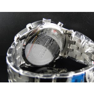 Jojino/Joe Rodeo Mj-1178 Aqua Master 5 Zone Metal Band Diamond Mens 51mm Watch