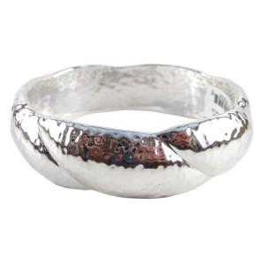 Ippolita Large Sterling Silver Glamazon Wide Twisted Bangle Bracelet