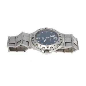 Bvlgari Diagono Scuba Stainless Steel 38mm Watch