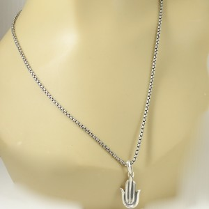 David Yurman Amulets Collection Sterling Silver  Necklace