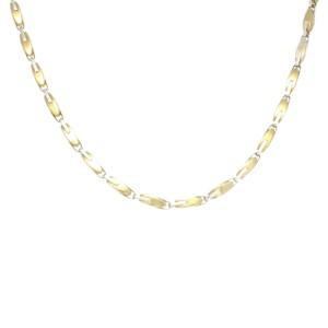 Baraka Bullet 18K Yellow & White Gold Necklace