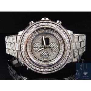 Breitling A13370 Super Avenger XL 53MM Stainless Steel Diamonds 23 Ct Mens Watch