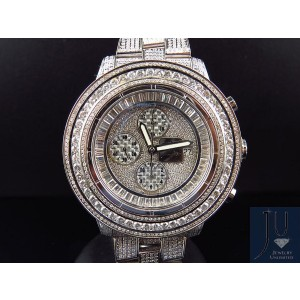 Breitling A13370 Super Avenger XL 53MM Stainless Steel Diamonds 23 Ct Mens Watch