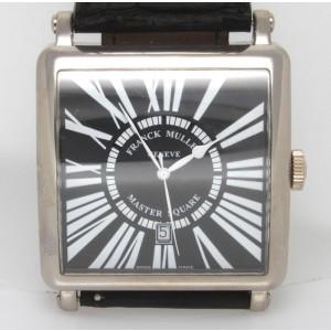 Franck Muller 6000 KSC Master Square 18K White Gold 43mm Watch