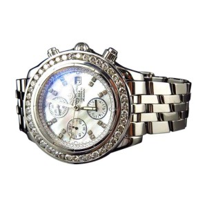 Breitling Evolution A13356 White 6 Ct Diamond 45 mm Mens Windrider Watch