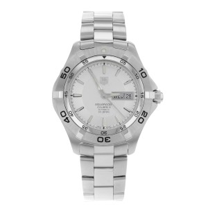 TAG Heuer Aquaracer 2000 Stainless Steel Automatic Mens Watch WAF2011.BA0818