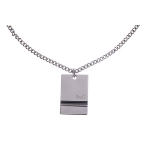 Dolce & Gabbana Dog Tag Necklace
