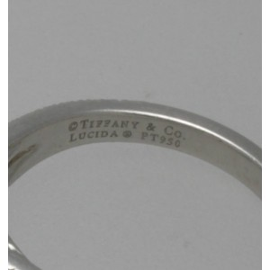 Tiffany & Co. Platinum 1.31 tcw. Diamond Lucida with Diamond Band