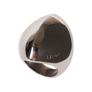 Dior Sterling Silver Cocktail Ring