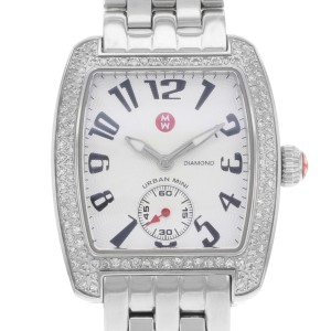 Michele Mini MWW02A000124 Urban 0.65ct Diamonds Quartz Womens Watch