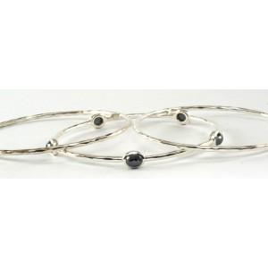 Ippolita Pyrite  Sterling Silver 5-Stone Station Trio Set Bracelet