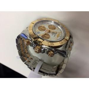 Breitling Chronomat CB014012.A722TT Steel & Rose Gold Automatic 41mm Mens Watch