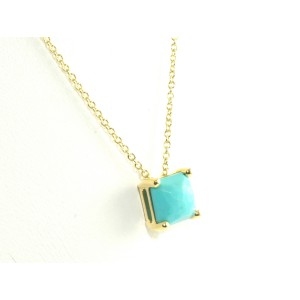 Ippolita 18K Yellow Gold Turquoise Sliding Pendant Necklace