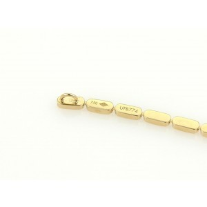 Louis Vuitton 18K Yellow Gold Bar Links Long Drop Pendant