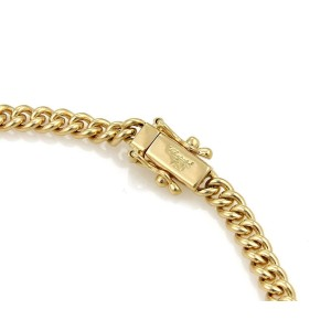 Chopard Happy Diamond 18K Yellow Gold and 0.15ct Diamonds Hearts Charm Chain Bracelet