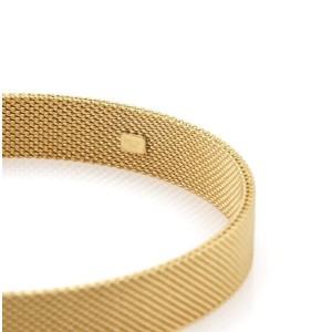 Tiffany & Co. Somerset 18k Yellow Gold Mesh Bangle