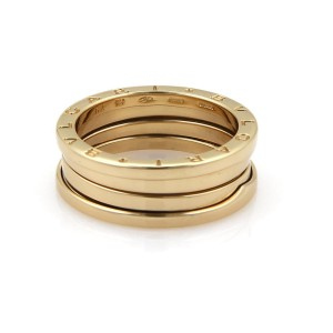Bulgari B Zero-1 18K Yellow Gold Band Ring Size 10