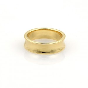 Tiffany & Co. 1837 Collection 18K Yellow Gold 6mm Band Ring Size 5.5