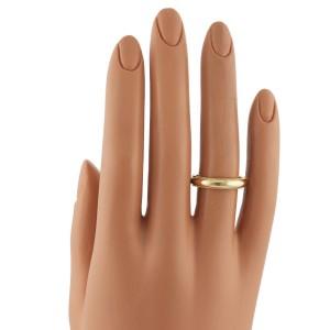 Tiffany & Co 18K Yellow Gold Double Milgrain Wedding Band Ring Size 7.5