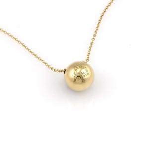 Tiffany & Co. Etoile 18K Yellow Gold, Platinum Diamond Pendant