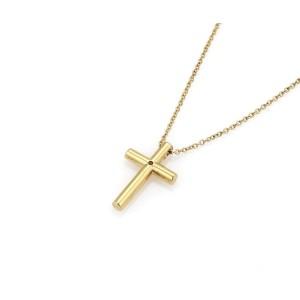 Tiffany & Co. Diamond 18K Yellow Gold Diamond Pendant
