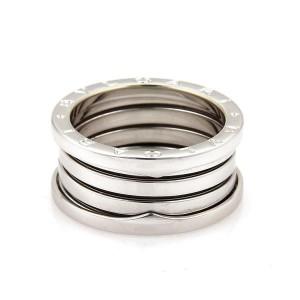 Bvlgari Bulgari B Zero-1 18k White Gold 11mm Band Ring Size EU 59-US 8.5