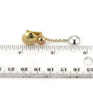 Cartier Sweet Trinity 18k Tricolor Gold Triple Disc Drop Dangle Earrings