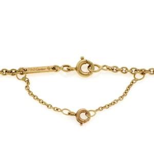 Cartier Trinity 18k Tri-Color Gold Small Triple Ring Pendant & Chain Cert