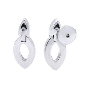 Cartier Estate 18k Marquise Round Diamond 0.20cttw Earrings AK2B1781