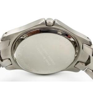 Armadani Stainless Steel Genuine Diamonds Swiss Quartz Mens Watch GS8012