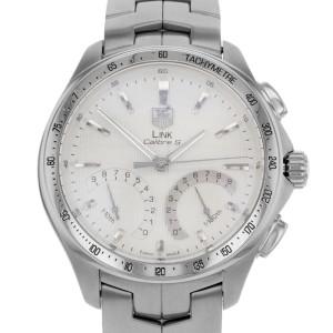 TAG Heuer Link Chronograph Silver Dial Steel Quartz Mens Watch CAT7011.BA0952