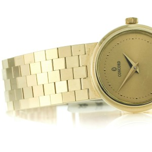 Concord C100 14K Yellow Gold Quartz Ladies Watch 22262256