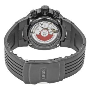 Oris Williams F1 Team Black PVD Steel Automatic Black Dial Watch 673-7563-4754RS